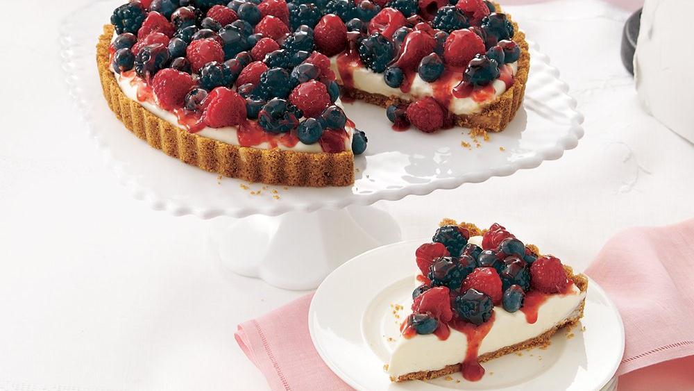 Fabulous Three-Berry Tart
