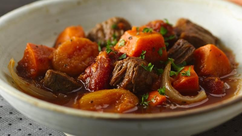 Slow-Cooker Colombian Beef and Sweet Potato Stew recipe from Betty ...