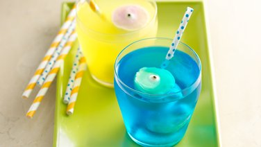 Fruity Yogurt Eyeball Floats