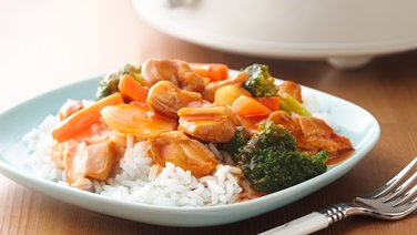 5-Ingredient Slow-Cooker Sweet and Sour Chicken