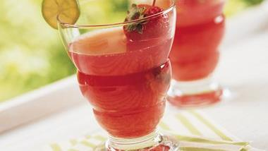 Cranberry-Strawberry Margarita Punch