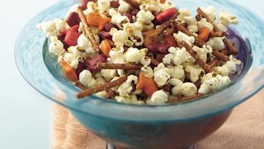 Savory Popcorn Mix
