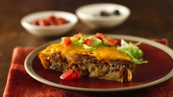 Impossibly Easy Taco Pie
