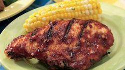 Pepper Strip Steaks with Lemon-Chive Butter