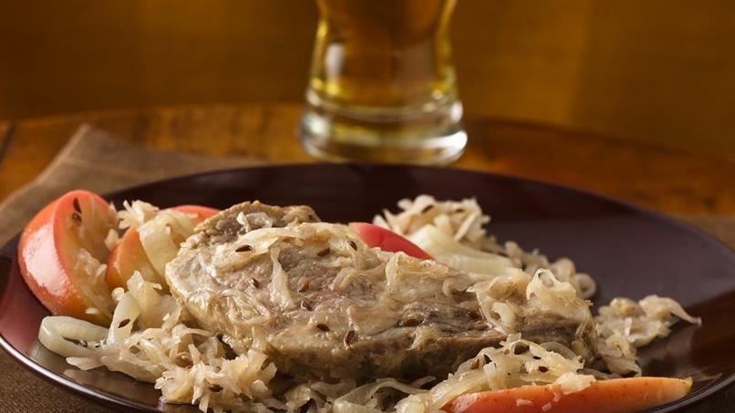 Country-Style Ribs and Sauerkraut
