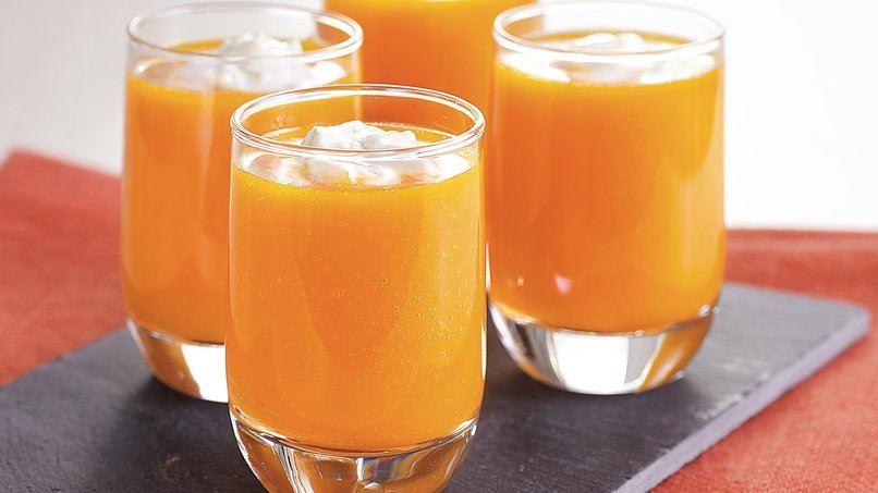Carrot Soup Shots