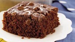 Chocolate-Banana Snack Cake