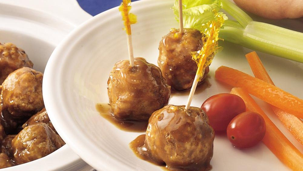 Slow-Cooker French Onion Meatballs