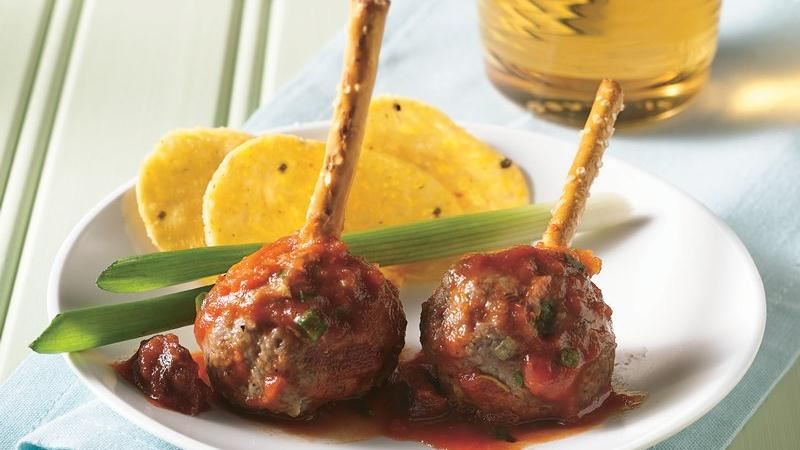 Meatballs with Fire Roasted Tomato Sauce