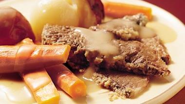 Slow-Cooker New England Pot Roast