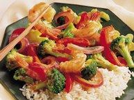Spicy Shrimp and Broccoli