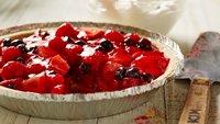 No-Bake Triple Berry Pie