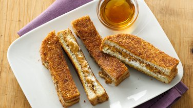 Granola-Peanut Butter French Toast