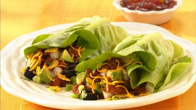 Inside-Out Taco Salad Wraps