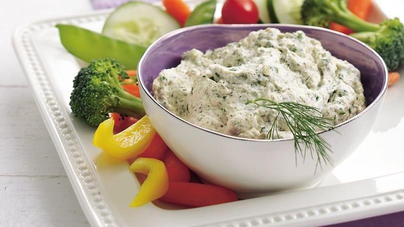 Zippy Dill Vegetable Dip