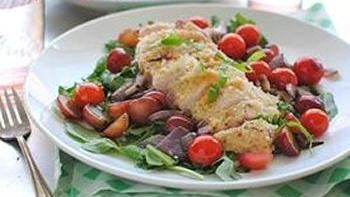 Chicken Parmesan Salad