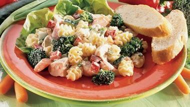 Chicken-Parmesan-Pasta Salad