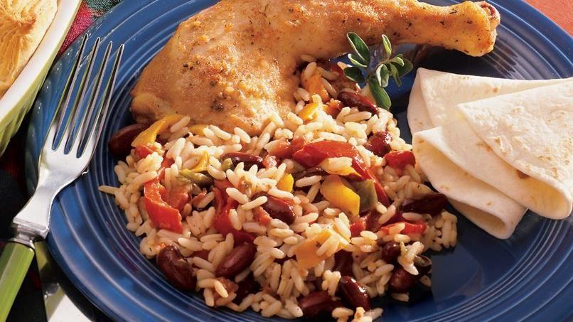 Minestrone Chicken and Rice