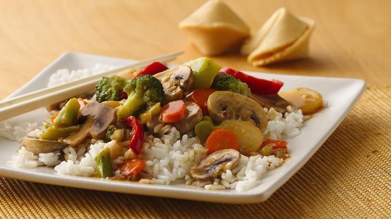 Asian Vegetable Stir-Fry