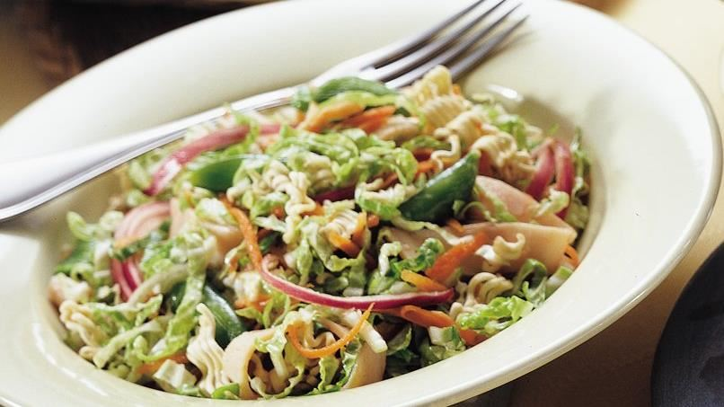 Asian Smoked Turkey Salad