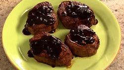 Grilled Steak with Balsamic Teriyaki Sauce
