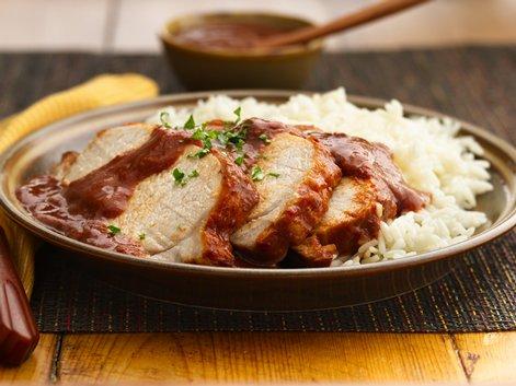 Pork Loin in Prune Sauce (Lomo en Salsa de Ciruela Pasa)
