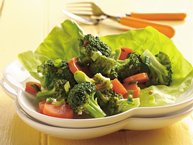 Marinated Broccoli and Carrot Salad