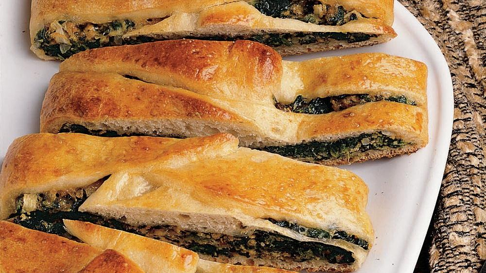 Hearty Spinach Braid