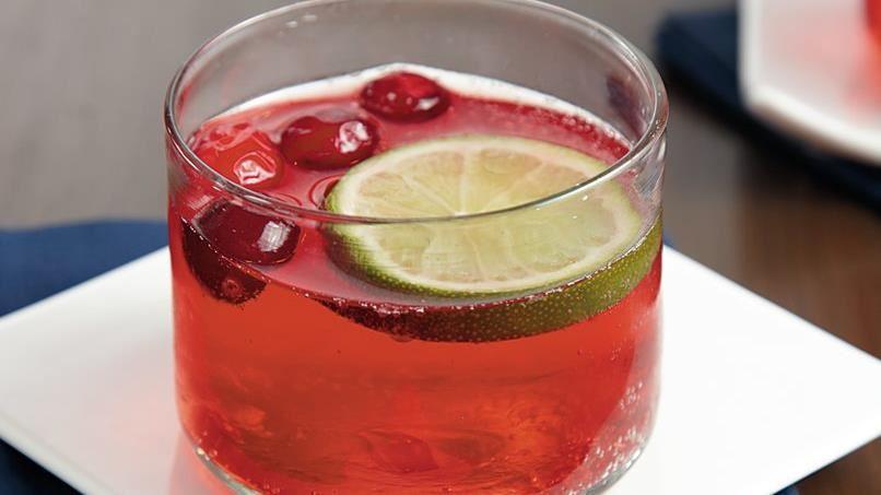 Sparkling Cranberry Ginger Punch