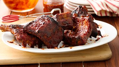 Slow-Cooker Barbecue Ribs