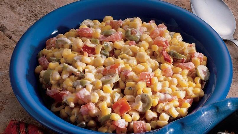 Creamy Herbed Corn