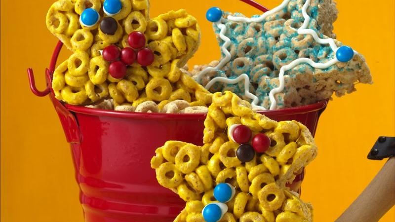 Cereal Cutouts