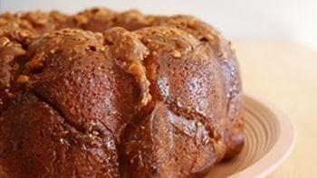 Cashew Caramel Monkey Bread