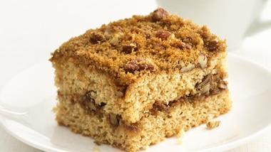 Skinny Streusel Coffee Cake
