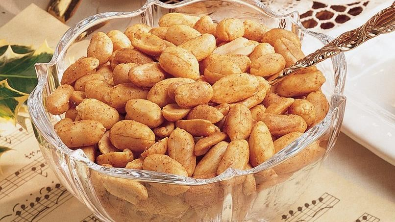 Hot and Spicy Peanuts