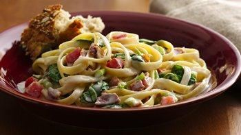 Pasta Carbonara with Bacon
