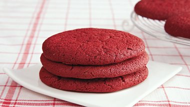 Cake Mix Red Velvet Cookies