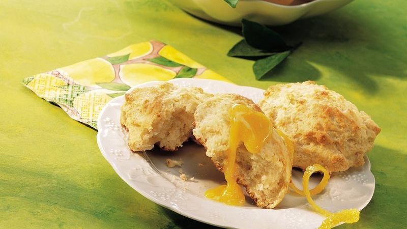 Lemon-Cream Cheese Scones