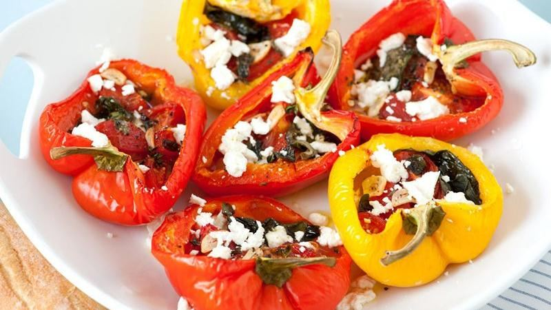 Roasted Stuffed Peppers