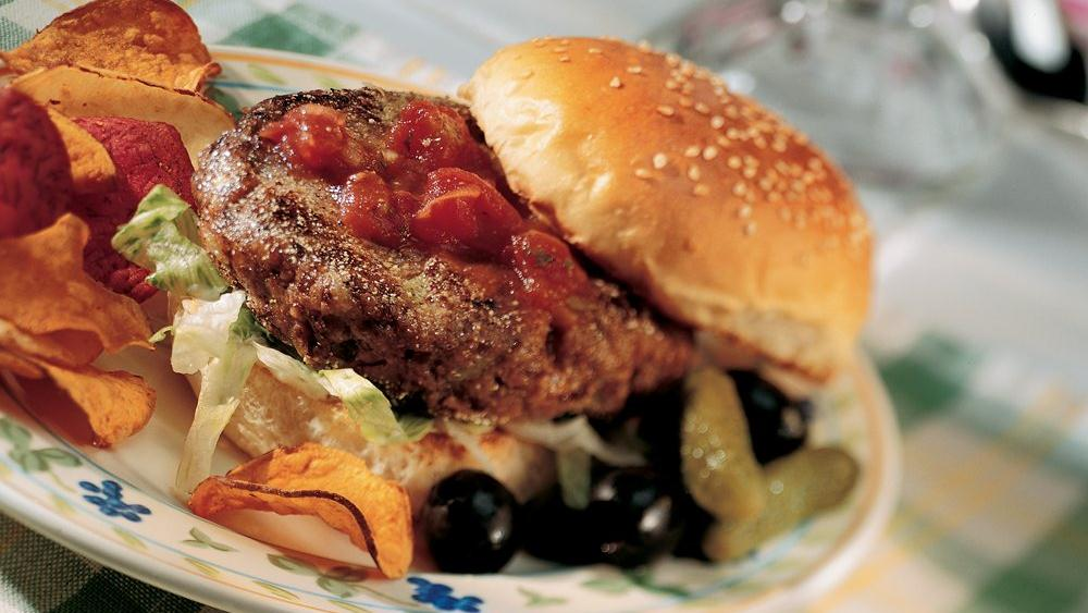 California Black Bean Burgers