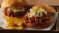 Slow-Cooker Pulled Jerk Pork Sandwiches