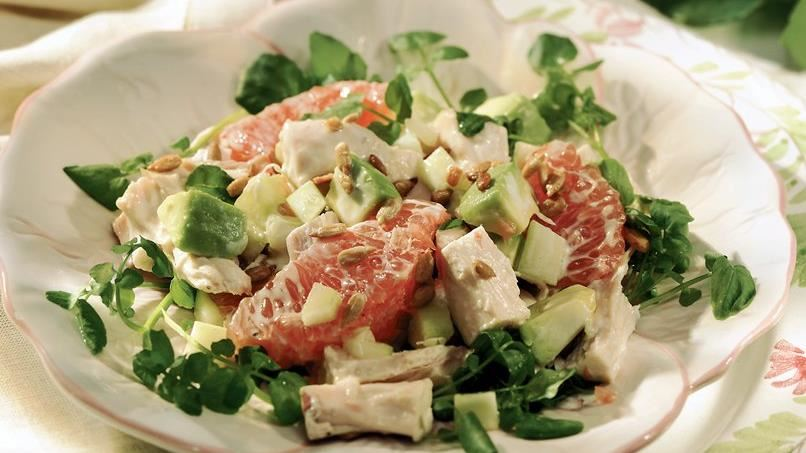 Chicken-Grapefruit Salad