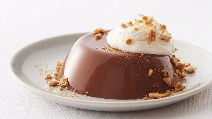 nutella s mores panna cotta recipe from tablespoon. Black Bedroom Furniture Sets. Home Design Ideas