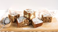 Cream Cheese-Swirled Carrot Cake Bars