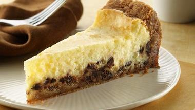 Gluten-Free Chocolate Chip Cookie Cheesecake