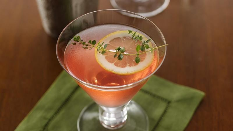 Lemon-Thyme Cocktails