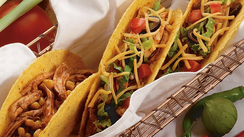 Chicken Corn Tacos