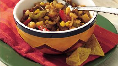 Southwestern Pork and Vegetable Stew