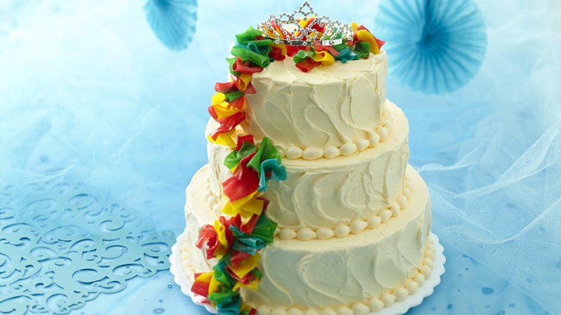 Cake Recipes Using Quinces: Quinceañera Layer Cake Recipe From Betty Crocker