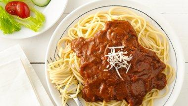 Meat and Veggie Spaghetti